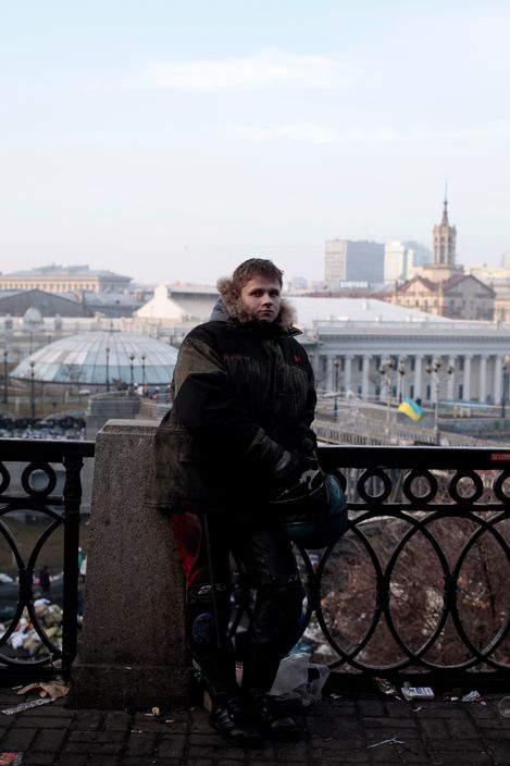 Украинская революция глазами Жерома Сессини (Jerome Sessini) 3