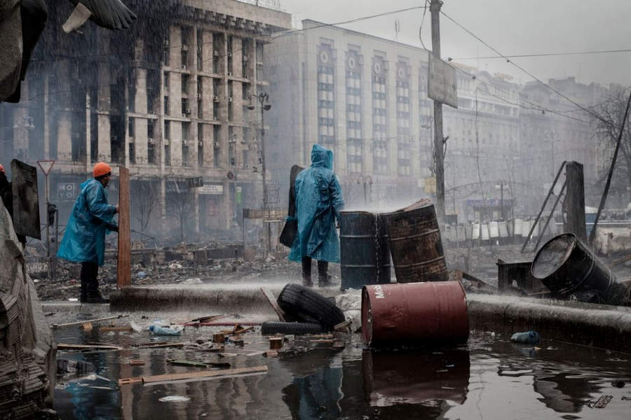 Украинская революция глазами Жерома Сессини (Jerome Sessini) 30