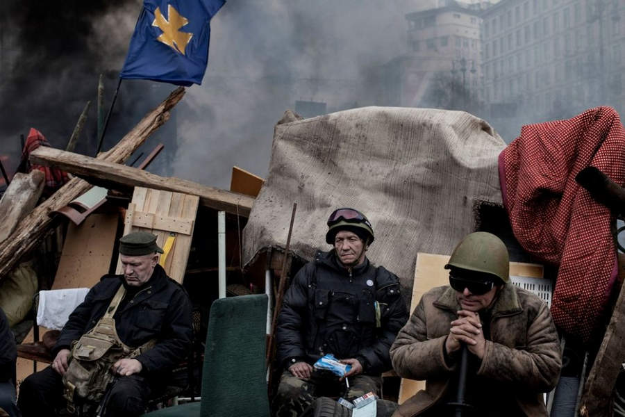 Украинская революция глазами Жерома Сессини (Jerome Sessini) 31
