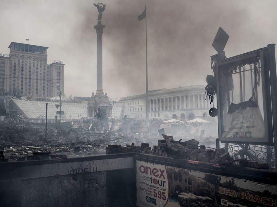 Украинская революция глазами Жерома Сессини (Jerome Sessini) 33