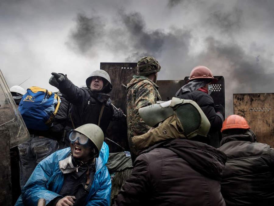 Украинская революция глазами Жерома Сессини (Jerome Sessini) 37