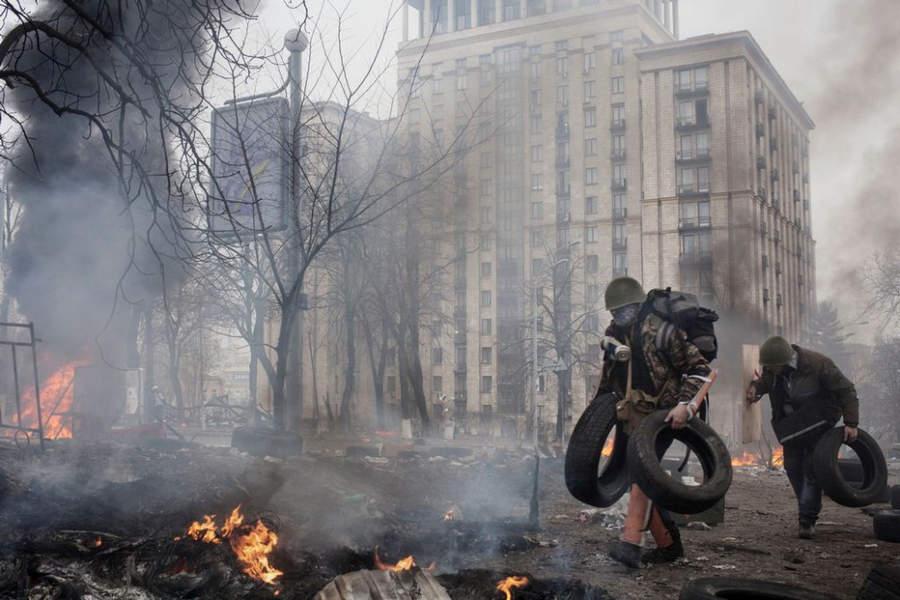 Украинская революция глазами Жерома Сессини (Jerome Sessini) 38