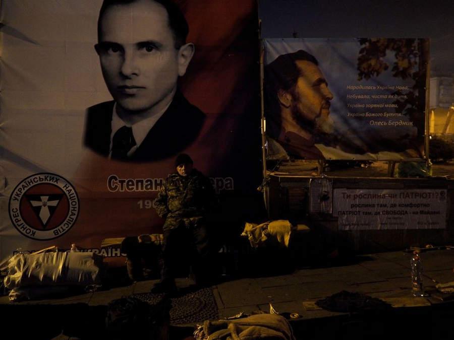 Украинская революция глазами Жерома Сессини (Jerome Sessini) 41