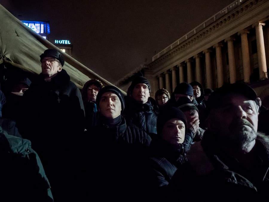 Украинская революция глазами Жерома Сессини (Jerome Sessini) 42