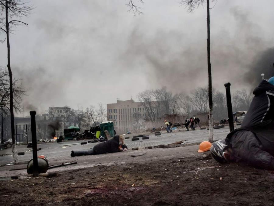 Украинская революция глазами Жерома Сессини (Jerome Sessini) 43