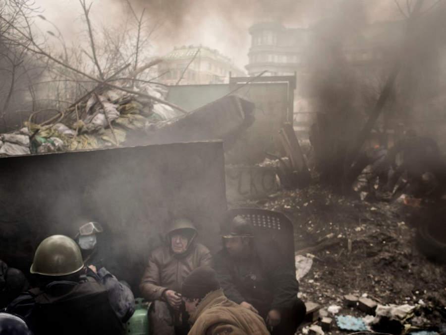 Украинская революция глазами Жерома Сессини (Jerome Sessini) 44