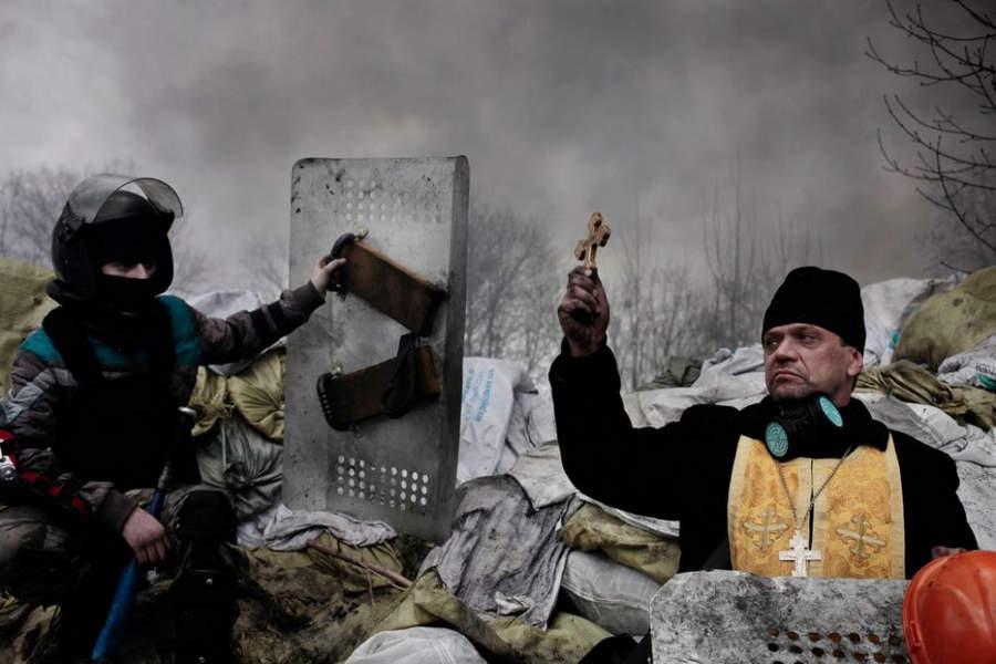 Украинская революция глазами Жерома Сессини (Jerome Sessini) 48