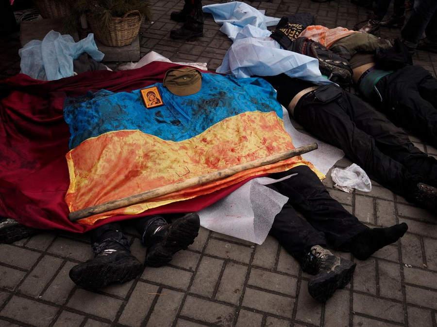 Украинская революция глазами Жерома Сессини (Jerome Sessini) 49