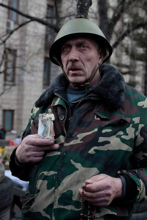 Украинская революция глазами Жерома Сессини (Jerome Sessini) 5