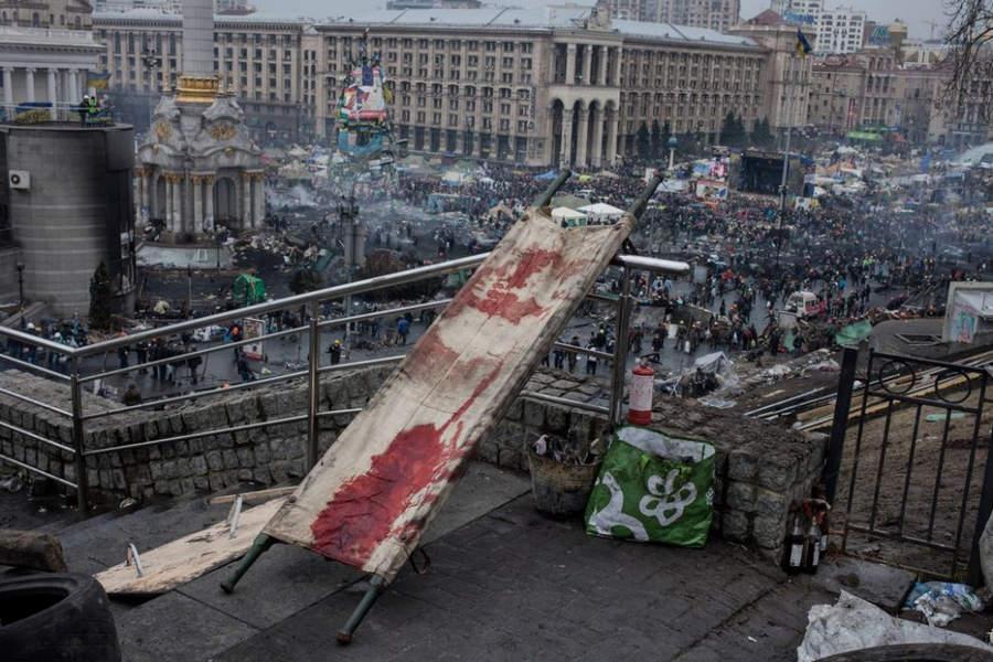 Украинская революция глазами Жерома Сессини (Jerome Sessini) 50