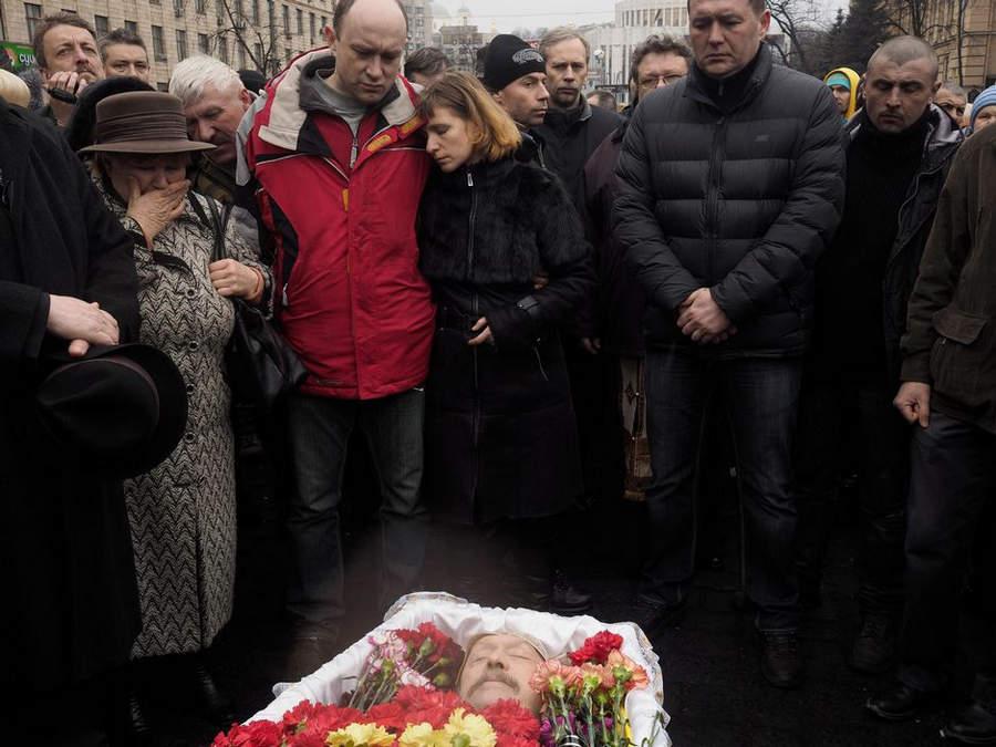 Украинская революция глазами Жерома Сессини (Jerome Sessini) 51