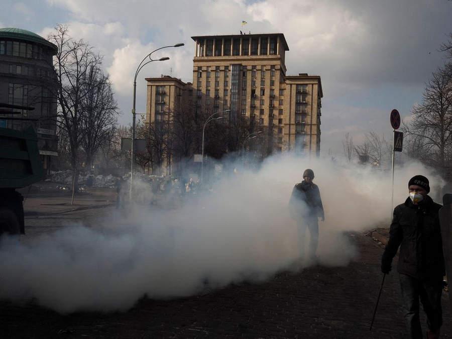 Украинская революция глазами Жерома Сессини (Jerome Sessini) 6