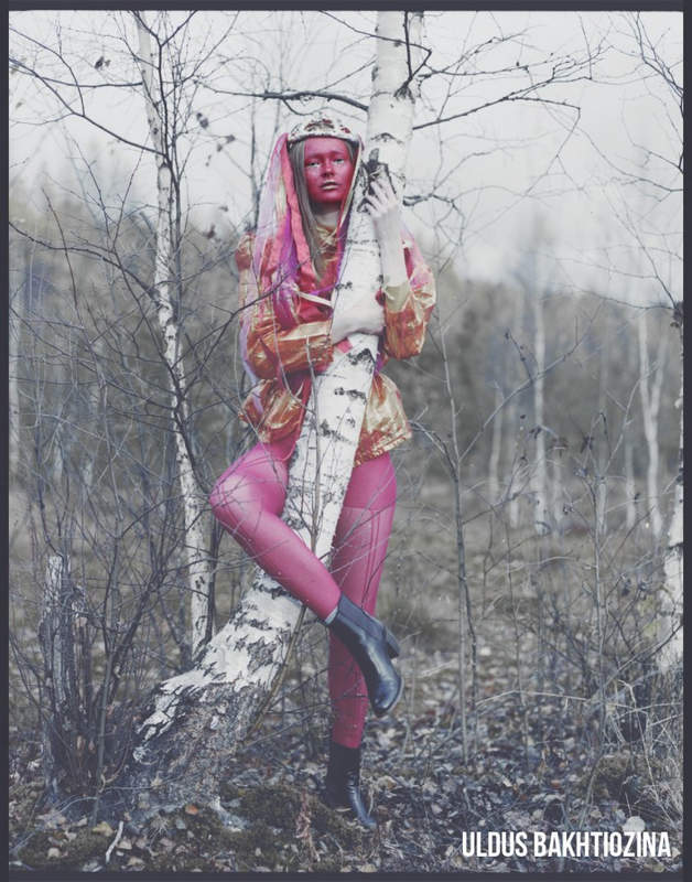 Улдус Бахтёжина (Uldus Bakhtiozina) и русская сказка в фотографиях 18