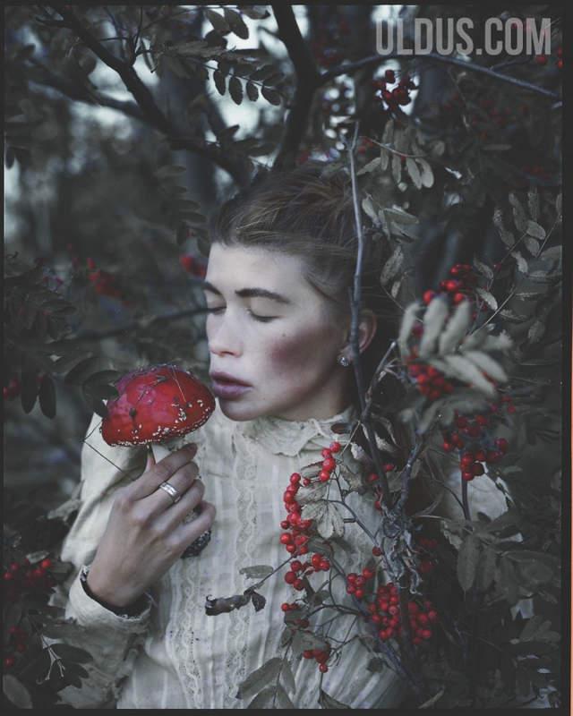 Улдус Бахтёжина (Uldus Bakhtiozina) и русская сказка в фотографиях 19