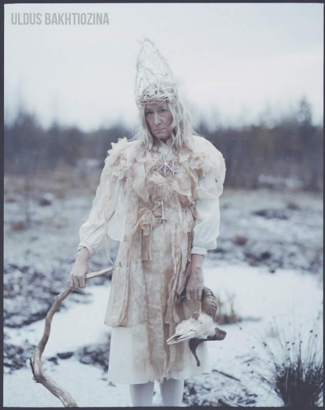 Улдус Бахтёжина (Uldus Bakhtiozina) и русская сказка в фотографиях 24