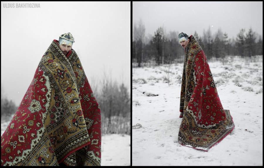 Улдус Бахтёжина (Uldus Bakhtiozina) и русская сказка в фотографиях 9