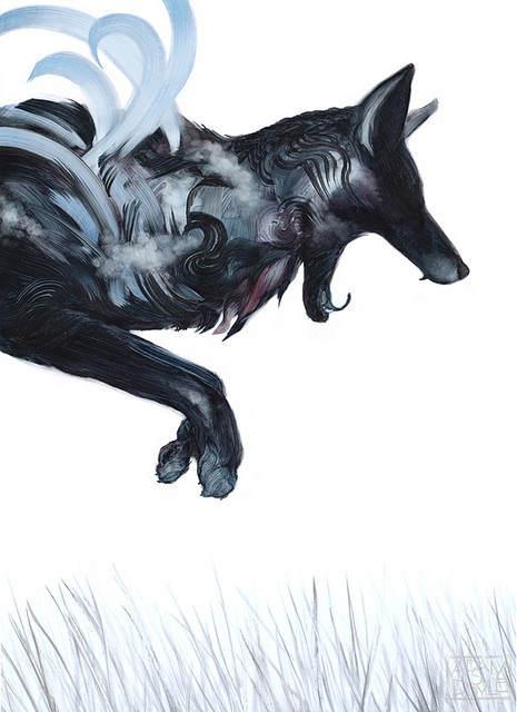 Адам С Дойл (Adam S Doyle) и его магические картины 12