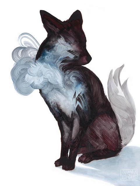 Адам С Дойл (Adam S Doyle) и его магические картины 13