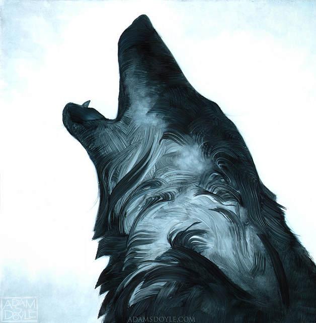 Адам С Дойл (Adam S Doyle) и его магические картины 14