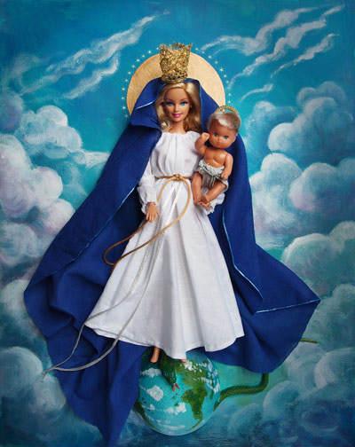 Barbie Tribute от Джоселин Гривуд (Jocelyne Grivaud) 11