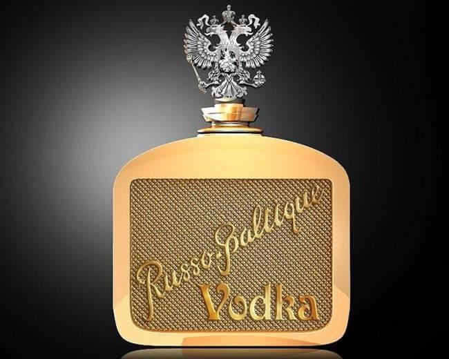 Новая Русская Балтийская водка ($ 1350000)