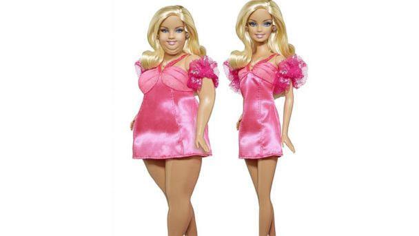 Самые странные куклы Barbie Топ-10 Fat Barbie