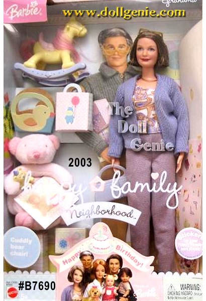 Самые странные куклы Barbie Топ-10 Grandma Barbie