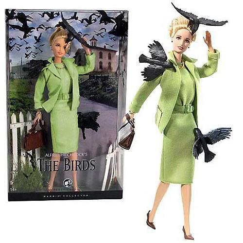 Самые странные куклы Barbie Топ-10 Hitchcock Barbie