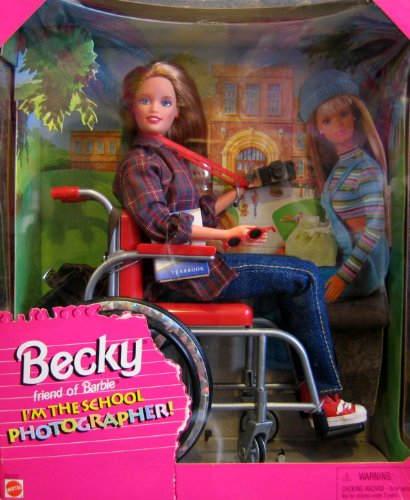 Самые странные куклы Barbie Топ-10 Wheelchair Barbie