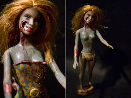Самые странные куклы Barbie Топ-10 Zombie Barbie