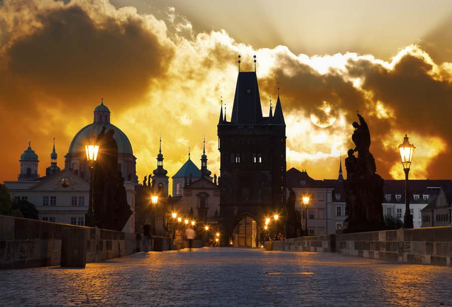 Вечерняя Прага - сказочное и невероятно романтичное место