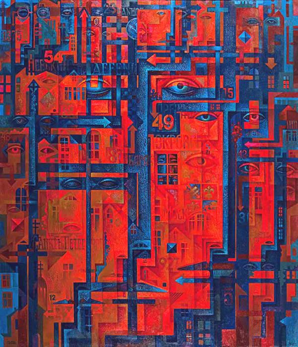 Абстрактные иллюстрации Сергей Чесноков-Ладыженский (Sergey Chesnokov-Ladyzhenskii) 10