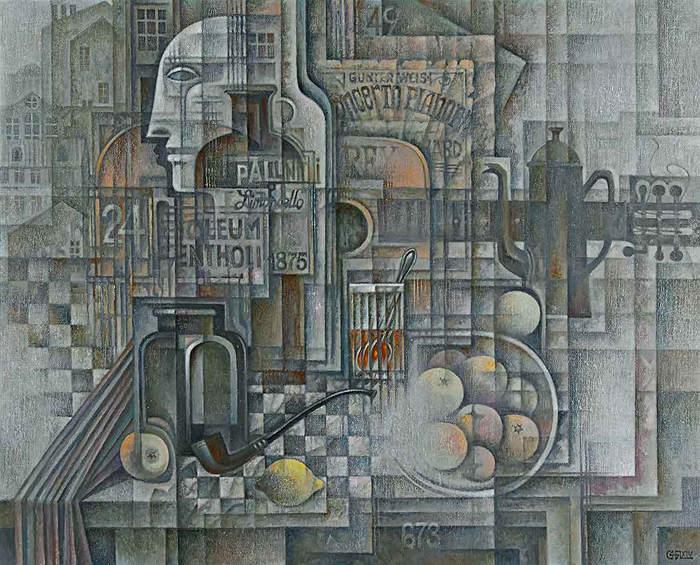 Абстрактные иллюстрации Сергей Чесноков-Ладыженский (Sergey Chesnokov-Ladyzhenskii) 11