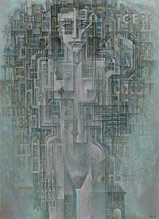 Абстрактные иллюстрации Сергей Чесноков-Ладыженский (Sergey Chesnokov-Ladyzhenskii) 12