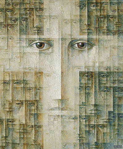 Абстрактные иллюстрации Сергей Чесноков-Ладыженский (Sergey Chesnokov-Ladyzhenskii) 16