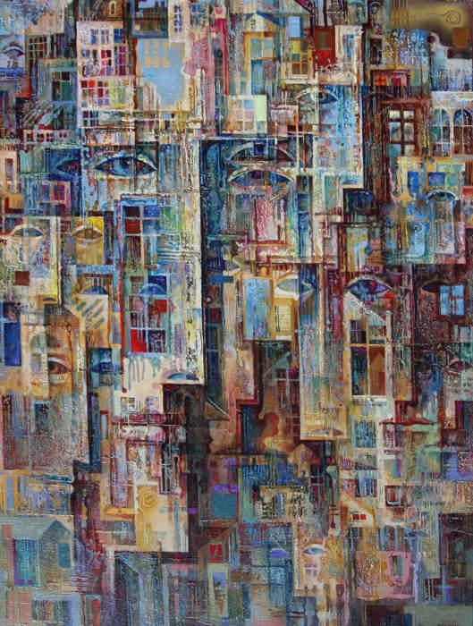 Абстрактные иллюстрации Сергей Чесноков-Ладыженский (Sergey Chesnokov-Ladyzhenskii) 17