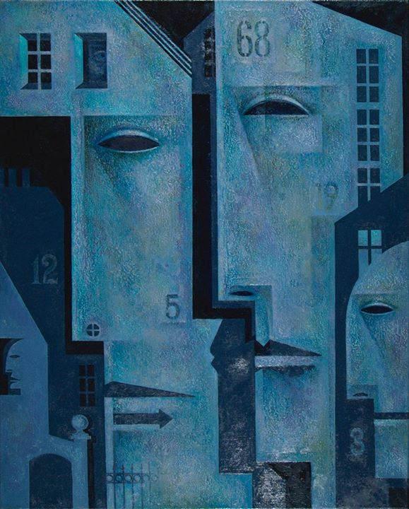 Абстрактные иллюстрации Сергей Чесноков-Ладыженский (Sergey Chesnokov-Ladyzhenskii) 2