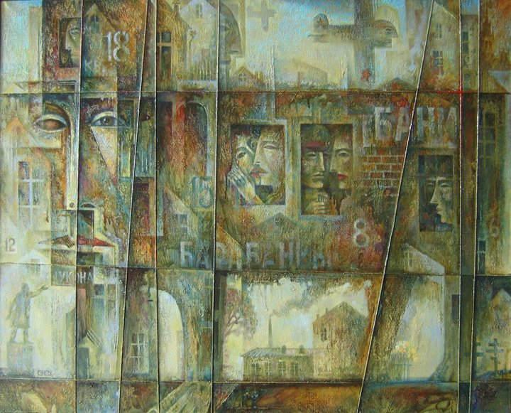 Абстрактные иллюстрации Сергей Чесноков-Ладыженский (Sergey Chesnokov-Ladyzhenskii) 3