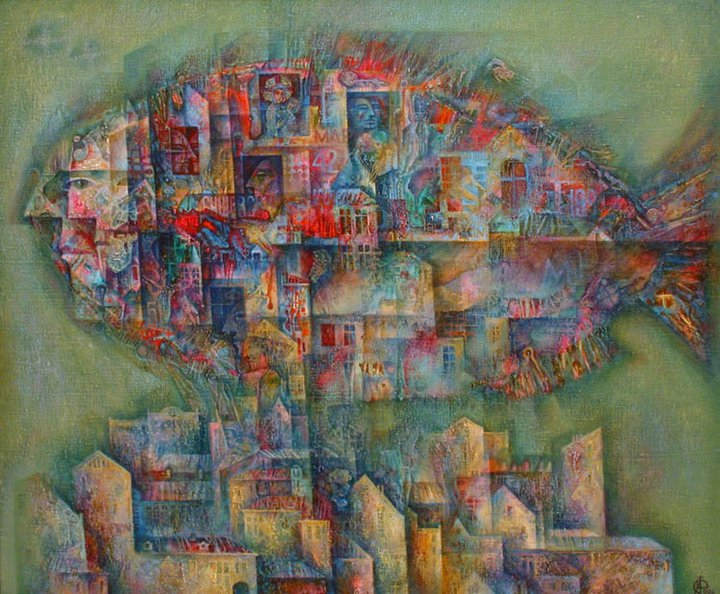 Абстрактные иллюстрации Сергей Чесноков-Ладыженский (Sergey Chesnokov-Ladyzhenskii) 4