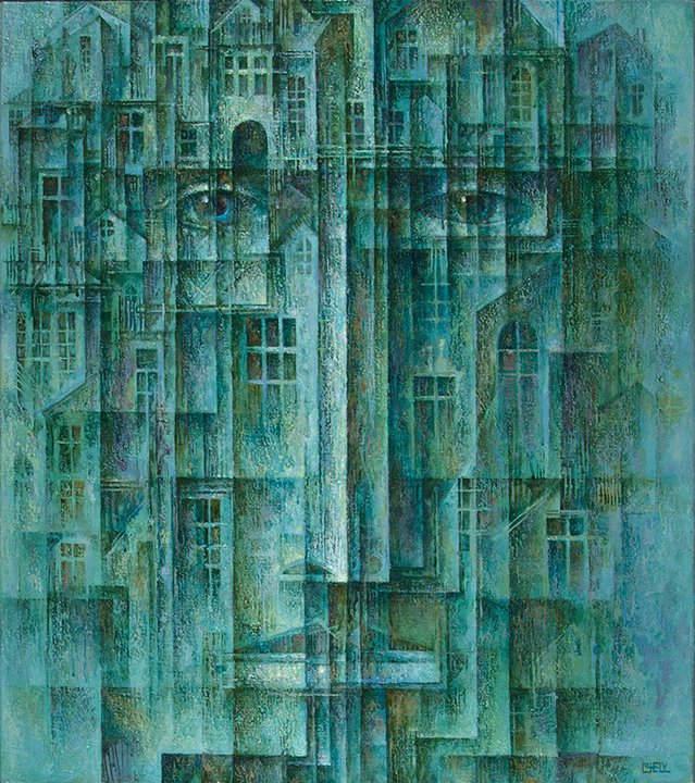 Абстрактные иллюстрации Сергей Чесноков-Ладыженский (Sergey Chesnokov-Ladyzhenskii) 5