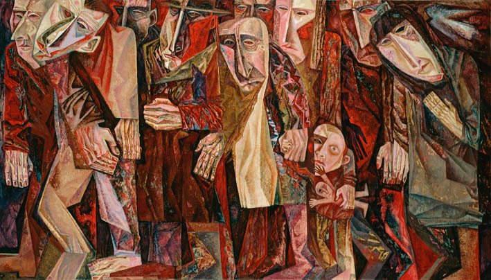 Абстрактные иллюстрации Сергей Чесноков-Ладыженский (Sergey Chesnokov-Ladyzhenskii) 6
