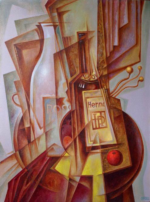 Абстрактные иллюстрации Сергей Чесноков-Ладыженский (Sergey Chesnokov-Ladyzhenskii) 8