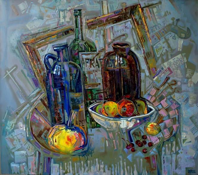 Абстрактные иллюстрации Сергей Чесноков-Ладыженский (Sergey Chesnokov-Ladyzhenskii) 9