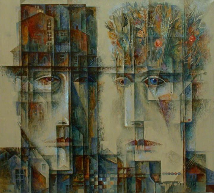 Абстрактные иллюстрации Сергей Чесноков-Ладыженский (Sergey Chesnokov-Ladyzhenskii)