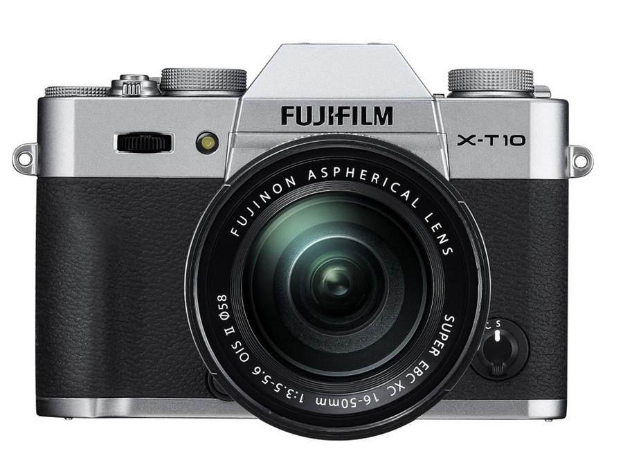 Беззеркальный фотоаппарат Fujifilm X-T10