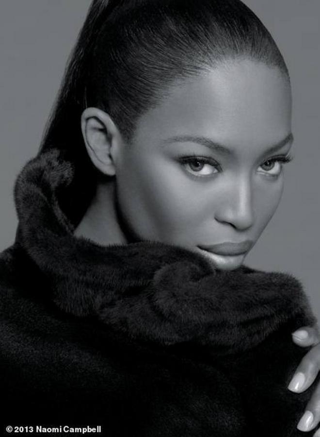 Черная пантера модельного бизнеса - Наоми Кэмпбелл (Naomi Campbell) 10