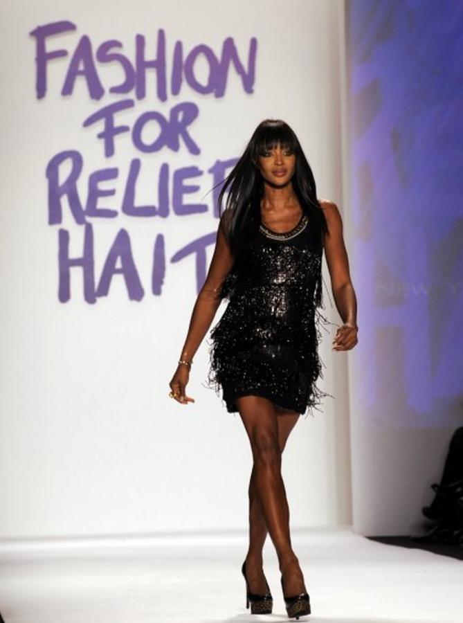 Черная пантера модельного бизнеса - Наоми Кэмпбелл (Naomi Campbell) 11