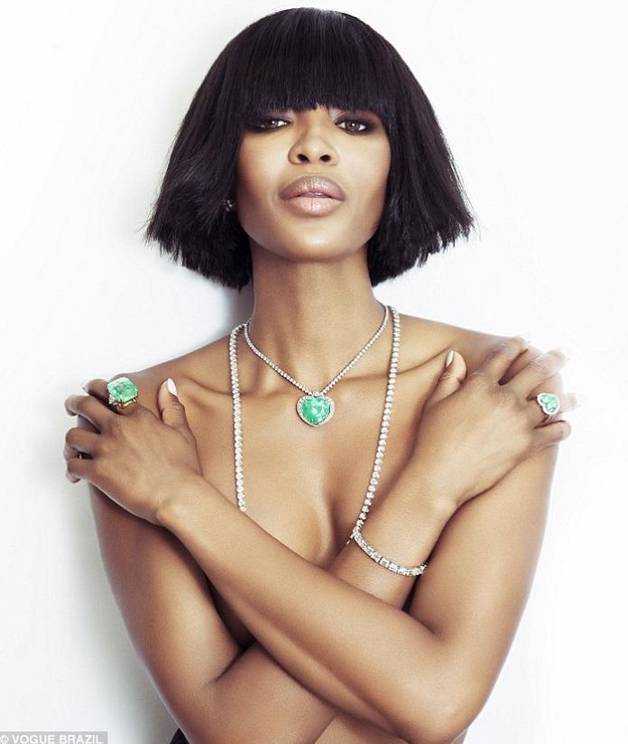 Черная пантера модельного бизнеса - Наоми Кэмпбелл (Naomi Campbell) 12