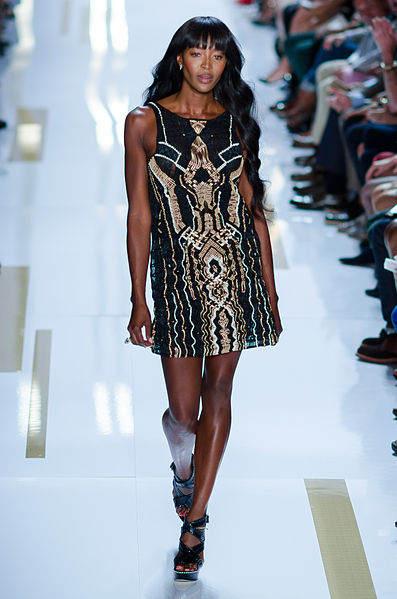 Черная пантера модельного бизнеса - Наоми Кэмпбелл (Naomi Campbell) 13