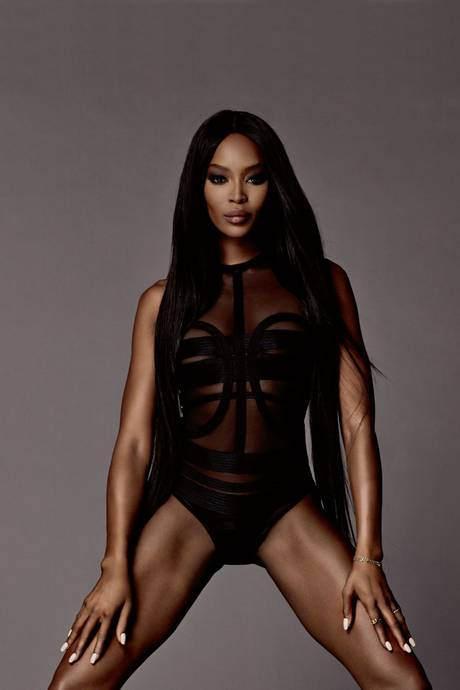 Черная пантера модельного бизнеса - Наоми Кэмпбелл (Naomi Campbell) 16
